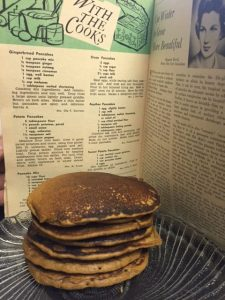 Gingerbread Pancakes from a Vintage Recipe
