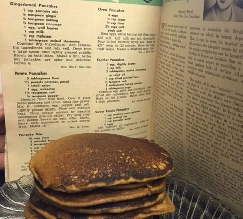 Kid Approved Gingerbread Pancakes