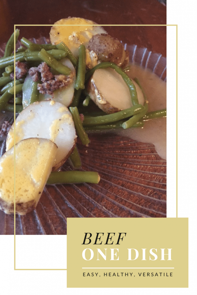 Easy, healthy, tasty beef one dish! The family begs for it!-- My Workbasket