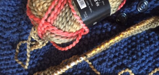 One cast off and the the other cast on, but be designing a new pattern!-- My Workbasket