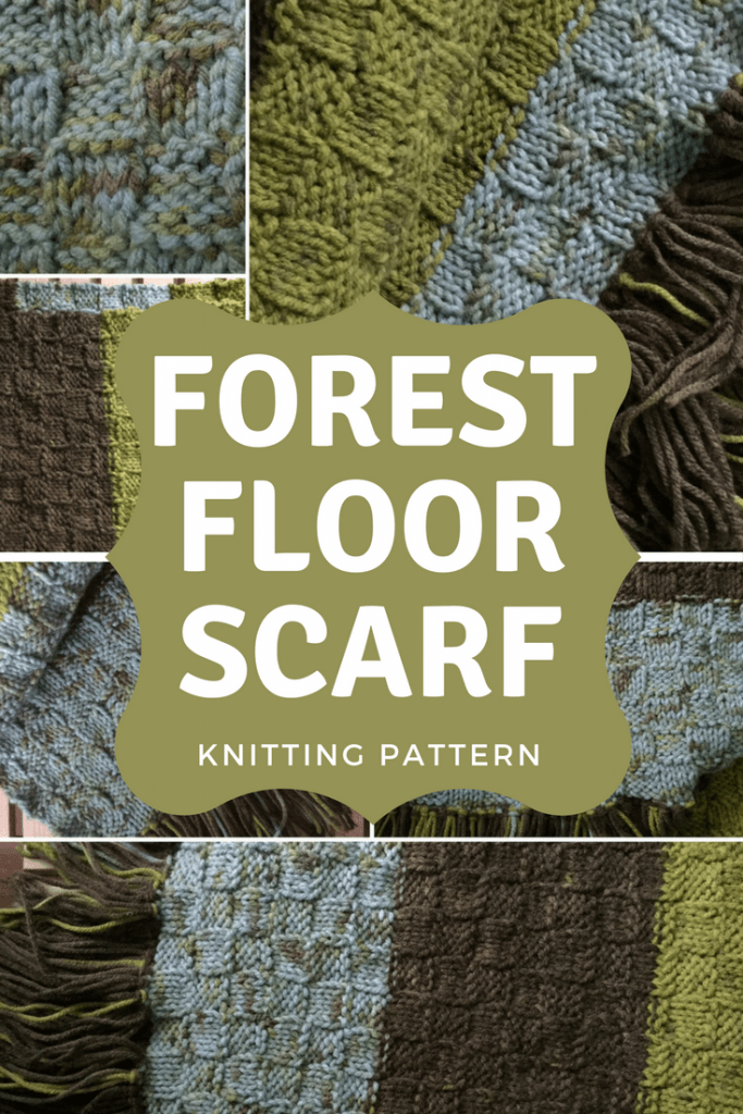 Free Forest Floor Scarf Pattern-- My Workbasket