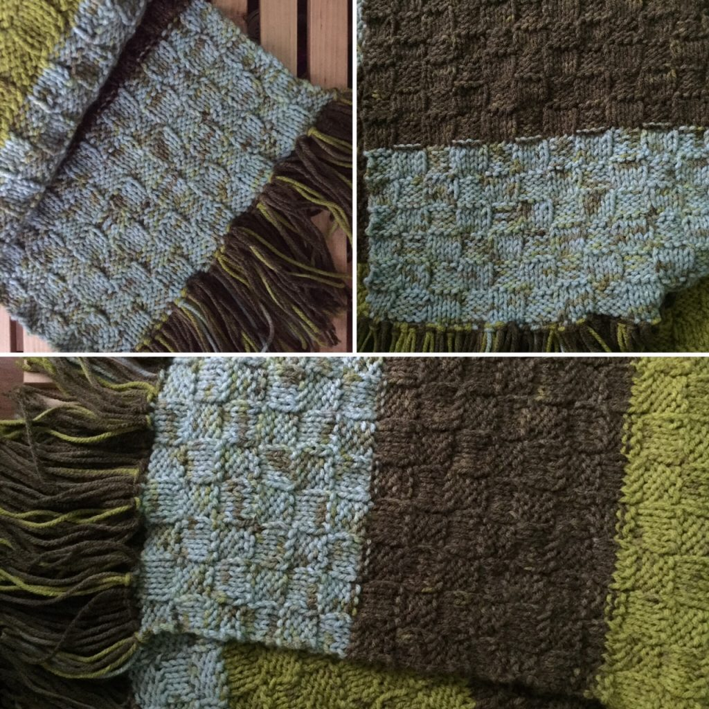 Free Forest Floor Scarf Knitting Pattern-- My Workbasket