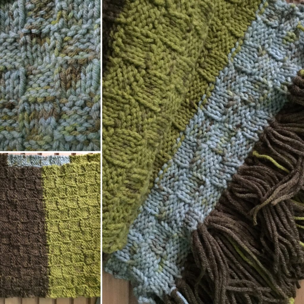 Free Forest Floor Scarf Pattern --My Workbasket