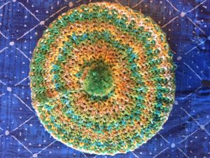 The 1967 Beret, a great hat, with a simple knitting stitch. FREE pattern!-- My Workbasket