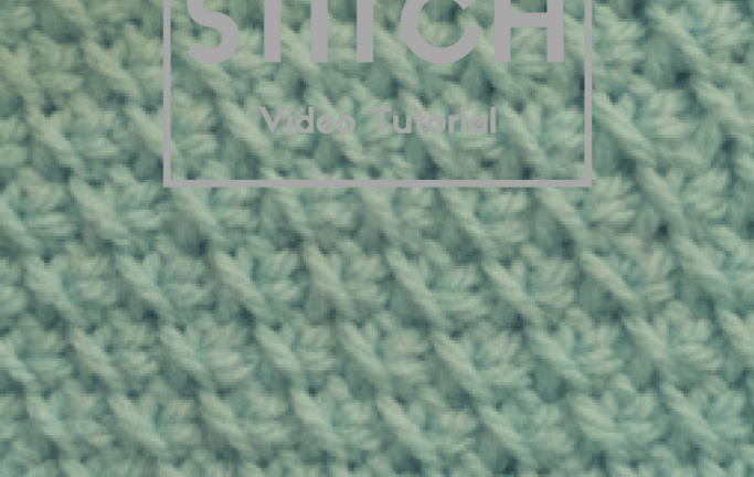 Tunisian Bias Stitch- CAL Block D