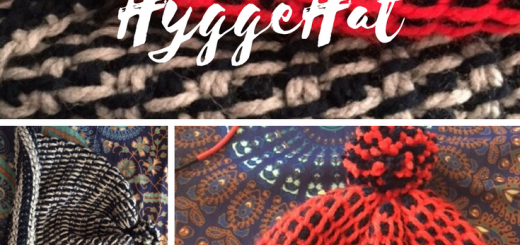 Free Pattern for the Tunisian Crochet Hyyge Hat, a cozy hat that works up quick. With instructions for making it in the round or flat and seamed, AND has a stitch tutorial video. -- My Workbasket
