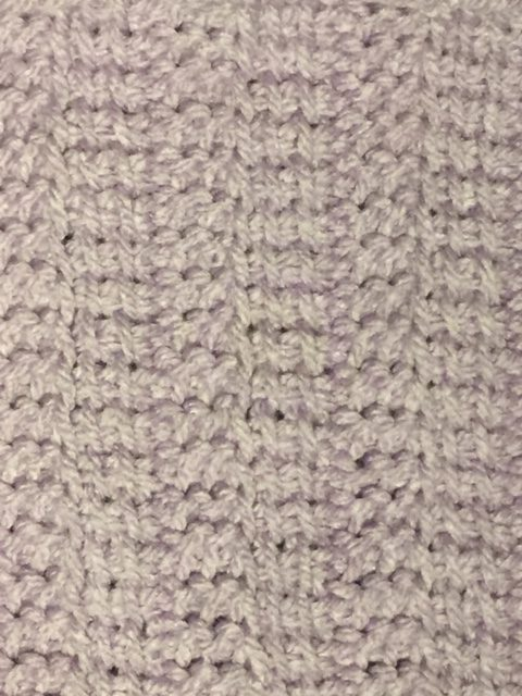 The Tunisian Rib Stitch, with a full step by step video tutorial. -- My Workbasket