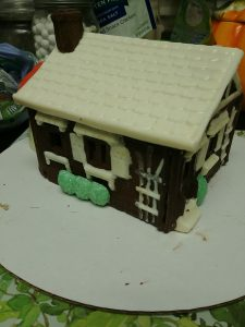 Sick of gingerbread? Or just LOVE Chocolate?? Make this fun chocolate house! And then eat it! -- My Workbasket