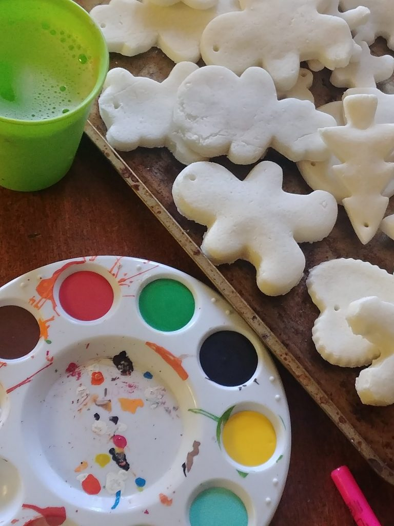 Salt and Starch Clay Ornaments- Fun Clay Ornaments for Kids