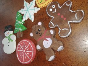 Salt and Starch Ornaments from My Workbasket