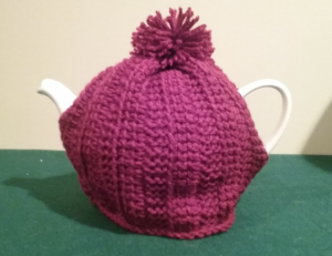 A wonderful tea cozy made by a reader! -- My Workbasket