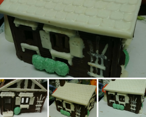 Have some family fun and make a wonderful edible chocolate house with this great mold! -- My Workbasket