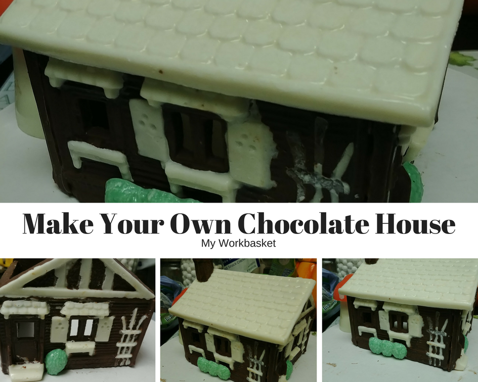 Have fun and make this adorable chocolate house!