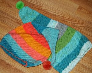 A fun, make up as you go hat formula for using a single cupcake yarn. Free from My Workbasket