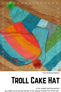 A fun and free pattern from My Workbasket, and with a fun cake recipe too!
