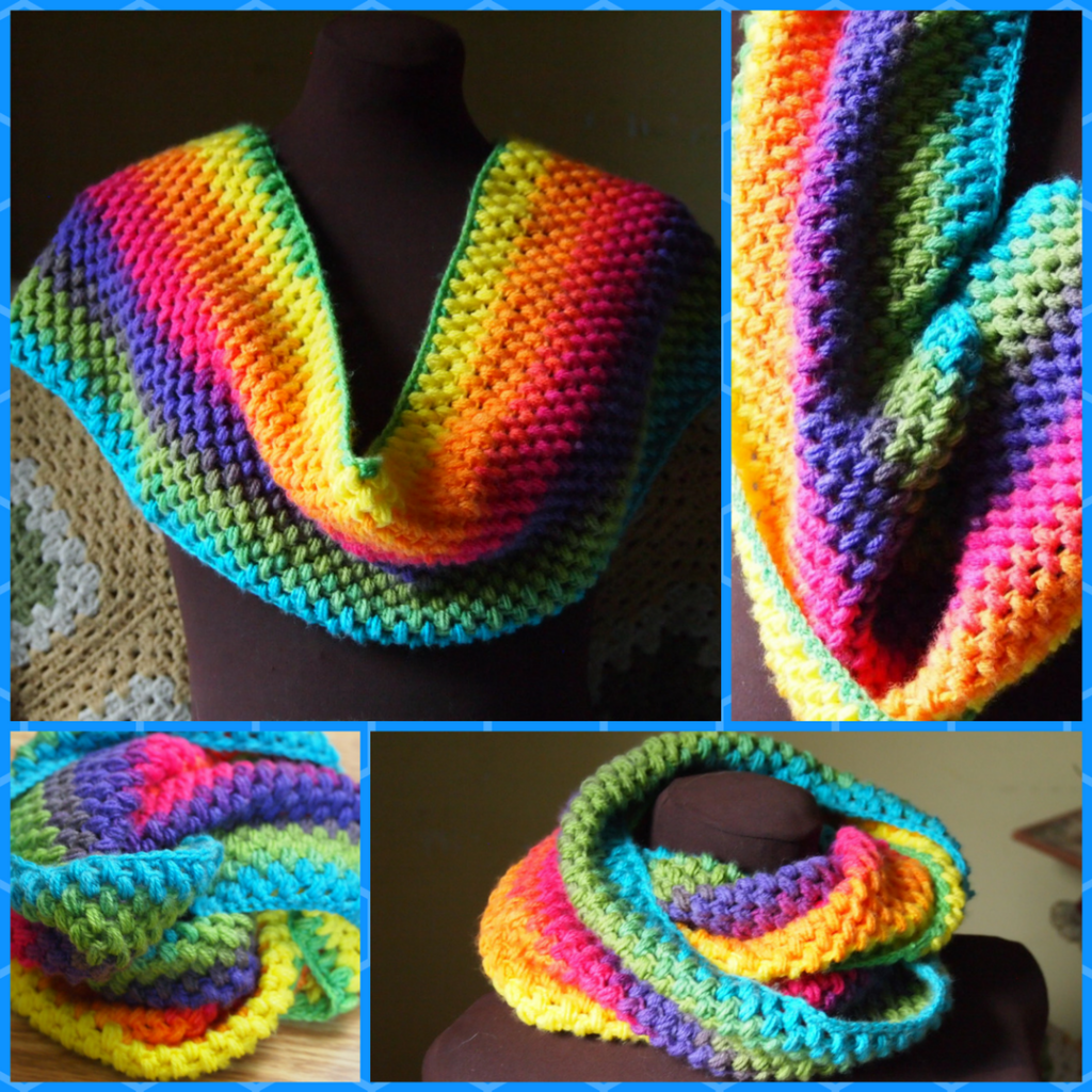 The Puffy Cowl- Another Single Skein Project using the Puff Stitch