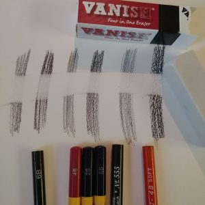 Ordered a new art eraser- so I preformed an eraser test! -- My Workbasket