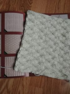 My First Sampler Afghan Block- The Double Parallelogram- From the Leisure Arts Sampler Afghan Book-- My Workbasket