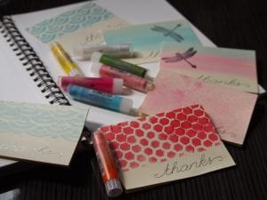 A simple handmade card that is inexpensive, fun and quick! From My Workbasket