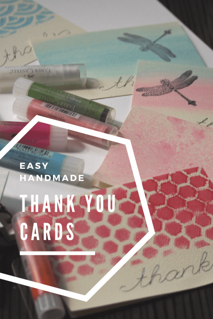 Multiple ways to make easy and affordable thank you cards with a simple handmade addition! Great for weddings, baby showers, and appreciation gifts! From My Workbasket