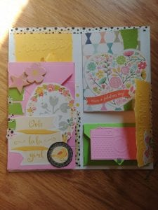 A flipbook flip through! Video shows the parts and pieces of my recent flip book and talks about what I did. A fun paper craft and snail mail item!
